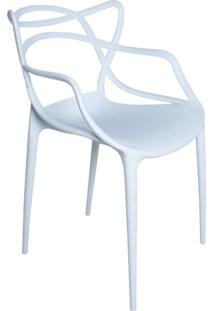 Cadeira Facthus Amsterdam Branco - Branco - Dafiti