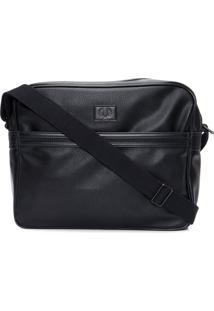 Bolsa Masculina Tumbled Shoulder Bag - Preta