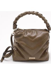 Bolsa Shoulder Bag Matelassê Verde Cacto