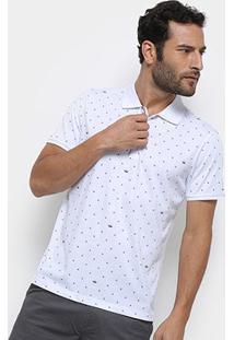 Camisa Polo Watkins & Krown Masculina - Masculino-Branco
