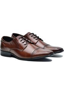 Sapato Social Couro Pórtice Masculino - Masculino