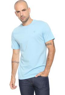 Camiseta Cavalera Logo Azul