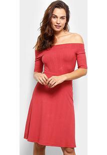 3157dbe728 ... Vestido Colcci Evasê Midi - Feminino-Vermelho