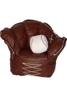 Puff Luva De Baseball - Stay Puff - Caramelo
