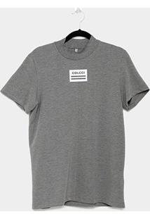 Camiseta Colcci Gola Fechada Feminina - Feminino