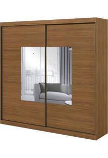 Guarda-Roupa Royal Com Espelho - 2 Portas - Rovere Naturale