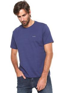 Camiseta Wrangler Collecti Azul