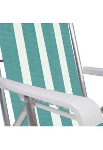 Cadeira Reclinável Alumínio 8 Posições 2233