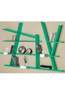 Prateleira Decorativa Turner 325 Verde Anis - Maxima