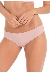 Calcinha Conforto Boneca Com Proteção Permanente - Feminino-Rosa