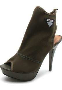 Ankle Boot Vizzano Liso Verde
