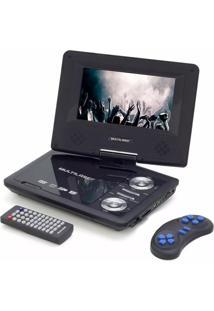 Dvd Portátil Multilaser 7'' + Cd Jogos + Controle + Joystick Au710