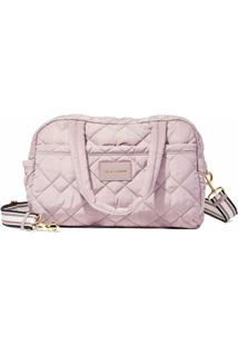 Marc Jacobs Mala The Quilted Nylon Medium Weekender - Rosa