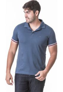 Camisa Polo Hifen Com Gola Dupla