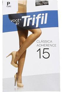Meia Calça Trifil Adherence Feminina - Feminino-Cinza