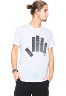 Camiseta Osklen Estampada Cinza