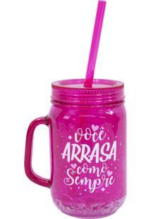 Caneca Minas De Presentes Congelável Pink