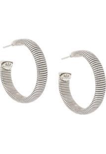 Gas Bijoux Milo Hoop Earrings - Metálico