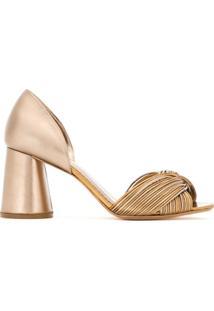 10fdce24bb Sapato Metalizado feminino