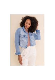 Jaqueta Jeans Cropped Rubi