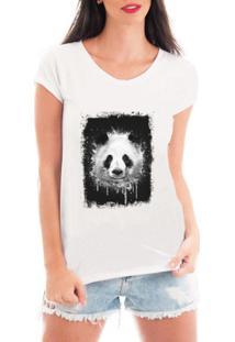Camiseta Criativa Urbana Panda - Feminino