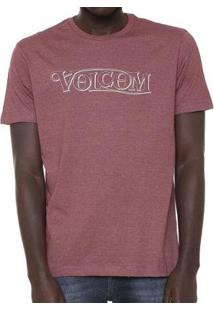 Camiseta Volcom Silk Straight Up - Masculino