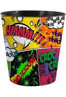 Balde Geek10 Fun Comic Multicolorido