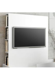 Painel Para Tv Até 40 Polegadas Aurora 6 Prateleiras Branco Tx - Bentec