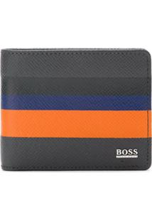 Boss Hugo Boss Carteira De Couro Com Logo - Estampado