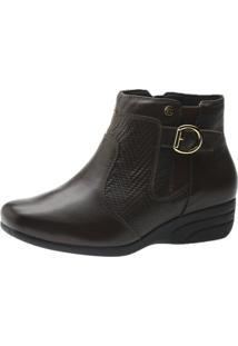 Bota Casual Doctor Shoes 1069 Café