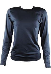 Camisa Térmica Feminina Segunda Pele Thermo Premium - Feminino-Preto