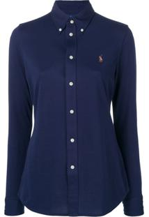 Polo Ralph Lauren Logo Fitted Shirt - Azul