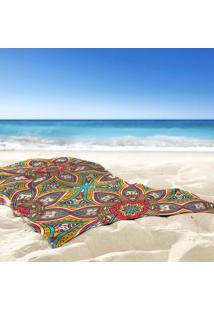 Toalha De Praia / Banho Mandala Fun