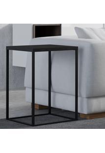 Mesa De Canto Cube G 24804 Fresno Negro - Artesano