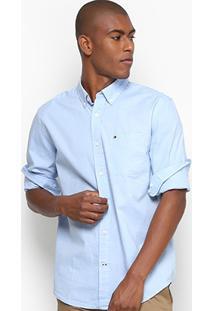 Camisa Social Tommy Regular Fit Masculina - Masculino