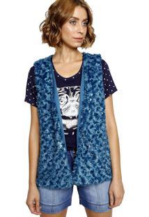 Colete Energia Fashion Azul