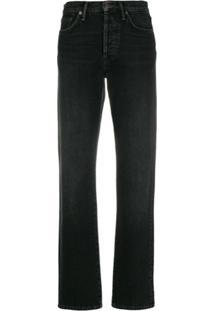 Acne Studios 1997 Straight-Leg Jeans - Preto