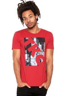 Camiseta Fiveblu Mc 1499 Vermelha
