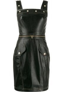 Versace Jeans Couture Vestido Com Tachas - Preto