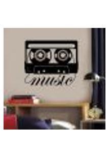 Adesivo De Parede Fita Music - G 58X68Cm