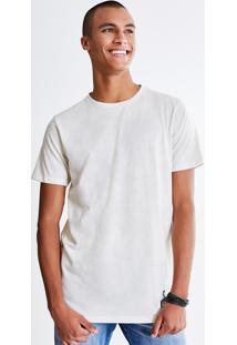 Camiseta Eco Texturizada Com Recorte