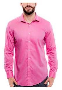 Camisa Masculina 002642 Dkny - Aubergine