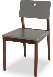 Cadeira Flip 81 Cm 921 Cacau/Cinza - Maxima