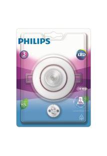 Spot De Embutir Redondo Led 5W 2700K Branco Philips