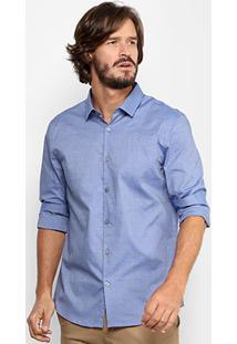 Camisa Calvin Klein Slim Fit Masculina - Masculino