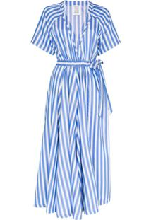 Rosie Assoulin Macacão Com Recortes - Azul