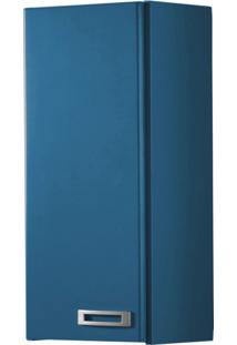 Armário Aéreo 1 Porta Kenzo 160 Azul Corporativo - Maxima