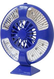 Luminária E Ventilador Nautika Fan Barracas Com 16 Leds - Unissex