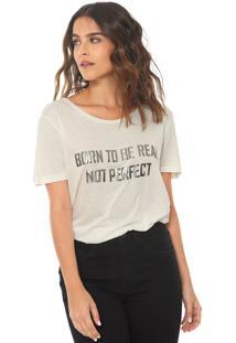 Camiseta Canal Real Branca