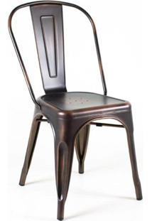Cadeira Tolix Bronze